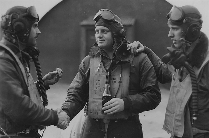 Pilots of 78th Fighter Group. © IWM (FRE 2770)