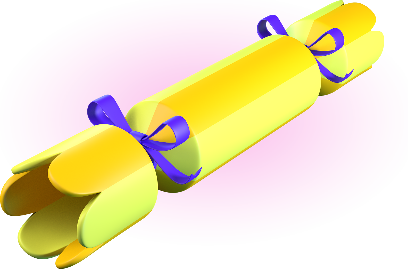 3D rendering of cracker model used in Battle Crackers